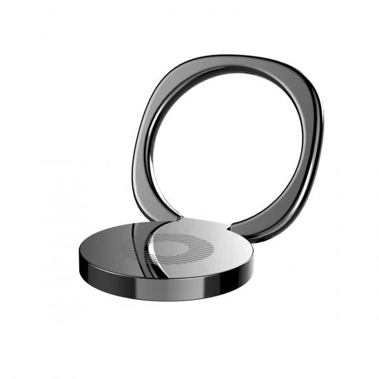 Baseus Privity Ring Holder - Δαχτυλίδι Συγκράτησης Κινητού / Tablet - Βάση Στήριξης - Black - SUMQ-01