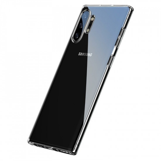 Baseus Simple Series TPU Case for Samsung Galaxy Note 10 Plus - Διάφανη - ARSANOTE10P-02