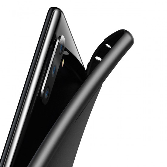 Baseus Samsung Galaxy Note 10 Ultra Thin Lightweight Wing PP Case - Black - WISANOTE10-01