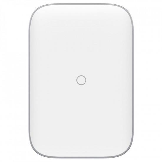 Baseus Rib Horizontal and Vertical Holder Wireless Charging 15W - Βάση Ασύρματη Φόρτισης Qi Charge - Λευκό - WXPG-02