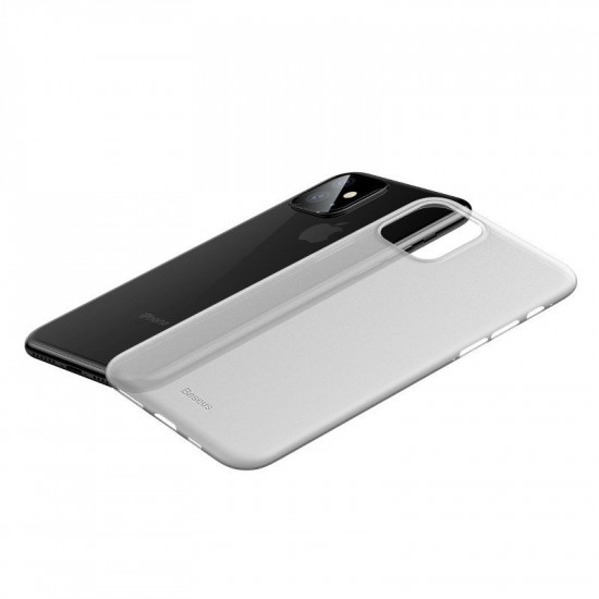 Baseus Apple iPhone 11 Ultra Thin Lightweight Wing PP Case - White - WIAPIPH61S-02
