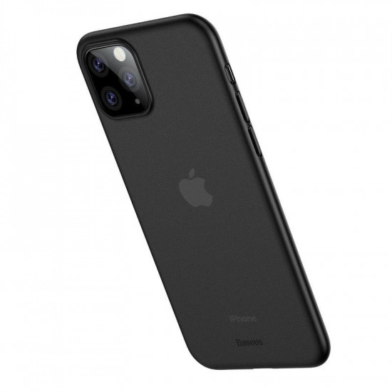 Baseus Apple iPhone 11 Pro Max Ultra Thin Lightweight Wing PP Case - Black - WIAPIPH65S-01
