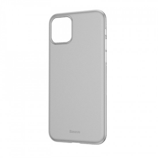 Baseus Apple iPhone 11 Pro Max Ultra Thin Lightweight Wing PP Case - White - WIAPIPH65S-02