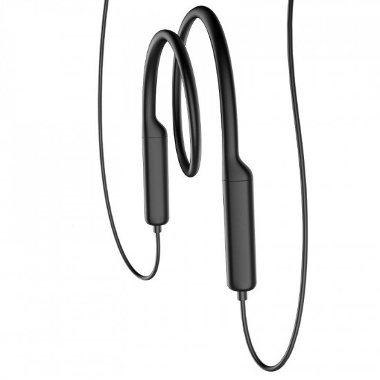 Baseus Encok S12 Bluetooth 5.0 - Σπορ Ασύρματα Αθλητικά Ακουστικά για Smartphone / iPhone - Black - NGS12-01