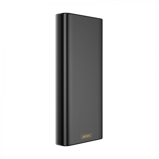 Remax RPP-150 Power Bank 20000mAh 2.1A 2xUSB Ports - Black
