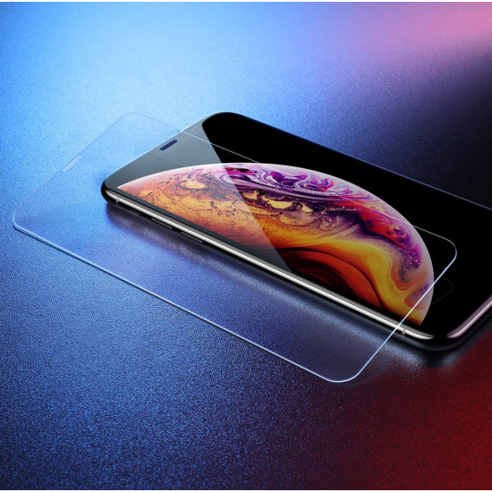 Baseus Apple iPhone 11 Pro Max / iPhone XS Max 0,3mm Αντιχαρακτικό Γυαλί Οθόνης 9H - Διάφανο - SGAPIPH65-ES02