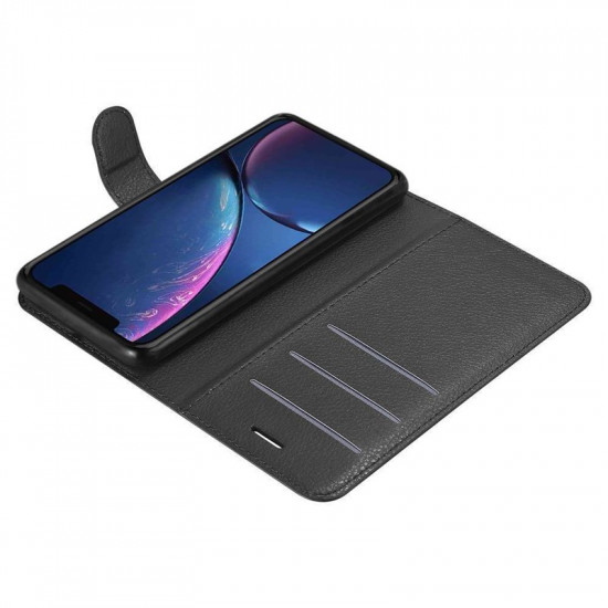 Cadorabo Apple iPhone 11 Pro Max Θήκη Πορτοφόλι Stand από Δερματίνη - Black