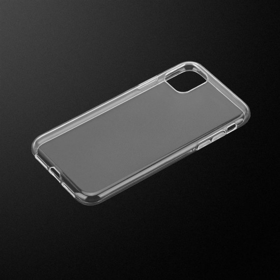 Cadorabo Apple iPhone 11 Pro Λεπτή Θήκη Σιλικόνης - Διάφανη