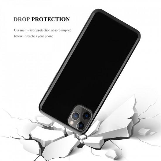 Cadorabo Apple iPhone 11 Pro Λεπτή Θήκη Σιλικόνης - Black