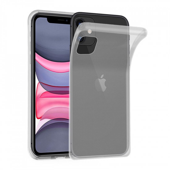 Cadorabo Apple iPhone 11 Λεπτή Θήκη Σιλικόνης - Διάφανη