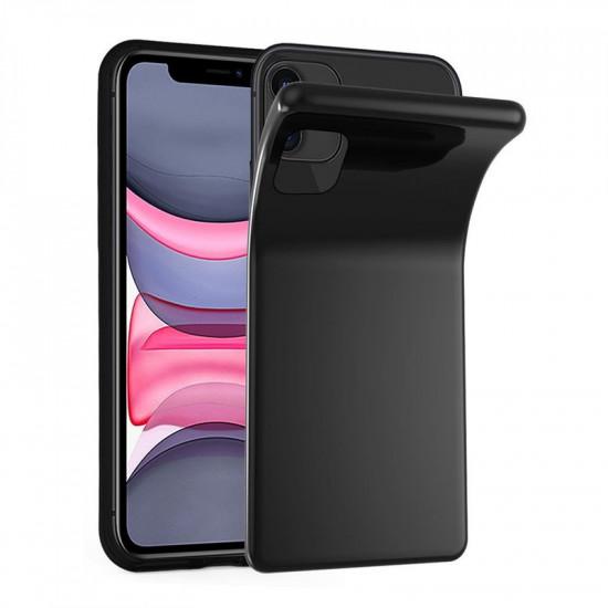 Cadorabo Apple iPhone 11 Λεπτή Θήκη Σιλικόνης - Black