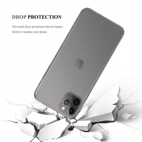 Cadorabo Apple iPhone 11 Pro Max Λεπτή Θήκη Σιλικόνης - Διάφανη