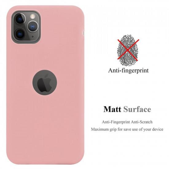 Cadorabo Apple iPhone 11 Pro Max Matte Θήκη Σιλικόνης - Pink