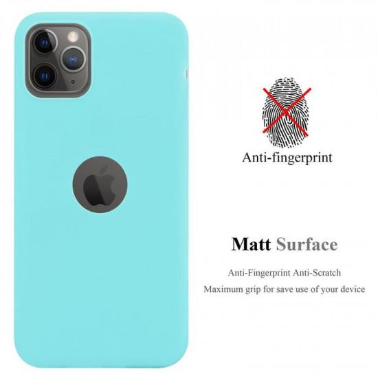 Cadorabo Apple iPhone 11 Pro Max Matte Θήκη Σιλικόνης - Blue