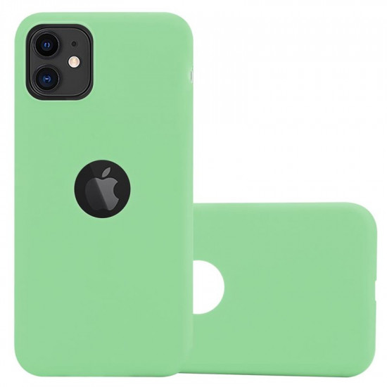 Cadorabo Apple iPhone 11 Matte Θήκη Σιλικόνης - Green