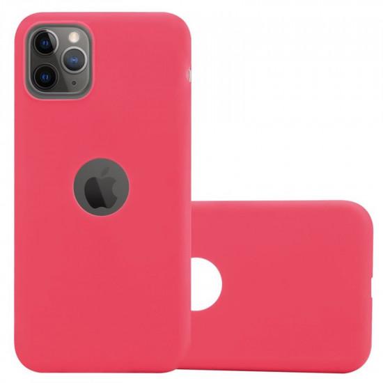 Cadorabo Apple iPhone 11 Pro Matte Θήκη Σιλικόνης - Red