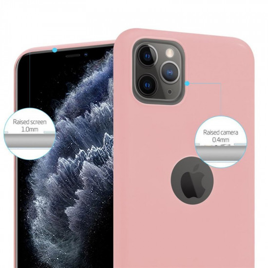 Cadorabo Apple iPhone 11 Pro Matte Θήκη Σιλικόνης - Pink
