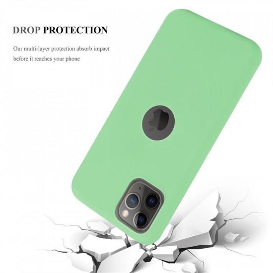 Cadorabo Apple iPhone 11 Pro Matte Θήκη Σιλικόνης - Green