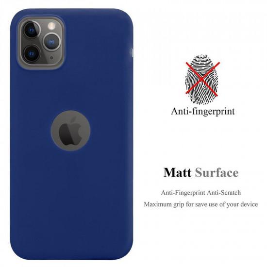 Cadorabo Apple iPhone 11 Pro Matte Θήκη Σιλικόνης - Dark Blue