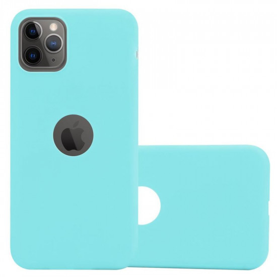 Cadorabo Apple iPhone 11 Pro Matte Θήκη Σιλικόνης - Blue
