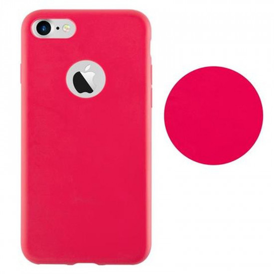 Cadorabo Apple iPhone SE 2020 / 7 / 8 Matte Θήκη Σιλικόνης - Red
