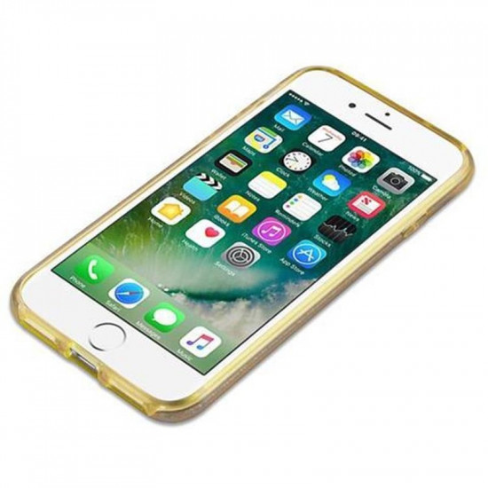 Cadorabo Apple iPhone SE 2020 / 7 / 8 Luxurious Glitter Σκληρή Θήκη - Gold