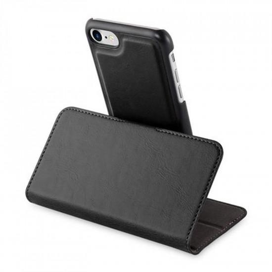 Cadorabo Apple iPhone SE 2020 / 7 / 8 Θήκη Πορτοφόλι Stand 2in1 - Black