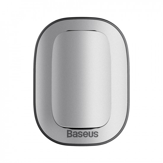 Baseus Platinum Vehicle Eyewear Clip Paste Type - Βάση Στήριξης Γυαλιών - Silver - ACYJN-A0S