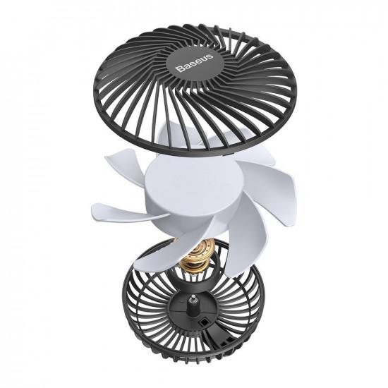 Baseus Departure Car Air Vent Fan - Ανεμιστήρας Αυτοκινήτου Αεραγωγού - Black - CXQC-A03