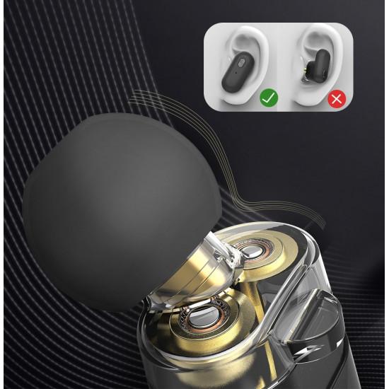 BlitzWolf Wireless Earphones Bluetooth 5.0 - Ασύρματα ακουστικά για Κλήσεις / Μουσική - Black - BW-FYE7