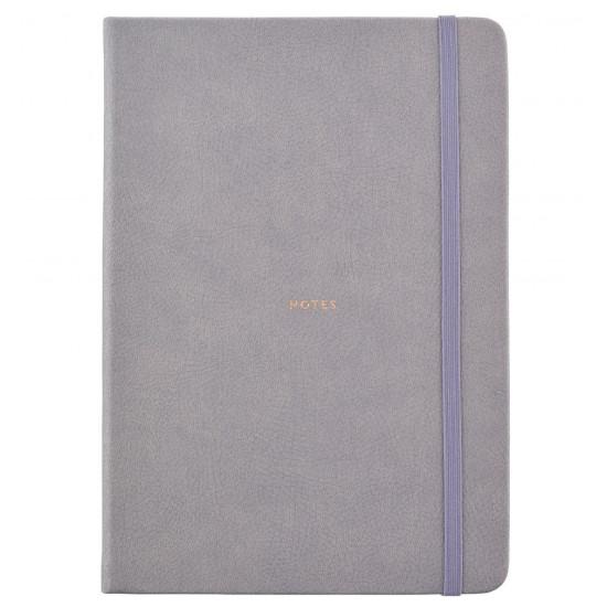 Busy B Busy Life Σημειωματάριο Α5 - Faux Grey