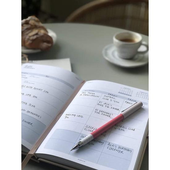 Busy B 17 Month Diary - Ημερολόγιο 17 Μηνών Αύγουστος 2020 έως Δεκέμβριος 2021 - Faux Rose Gold