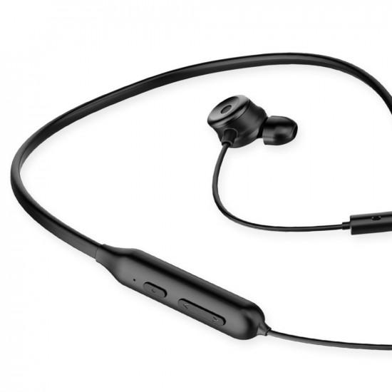 Baseus SIMU S15 Active Noise Control - Ασύρματα Αθλητικά Ακουστικά για Smartphone / iPhone - Black - NGS15-01