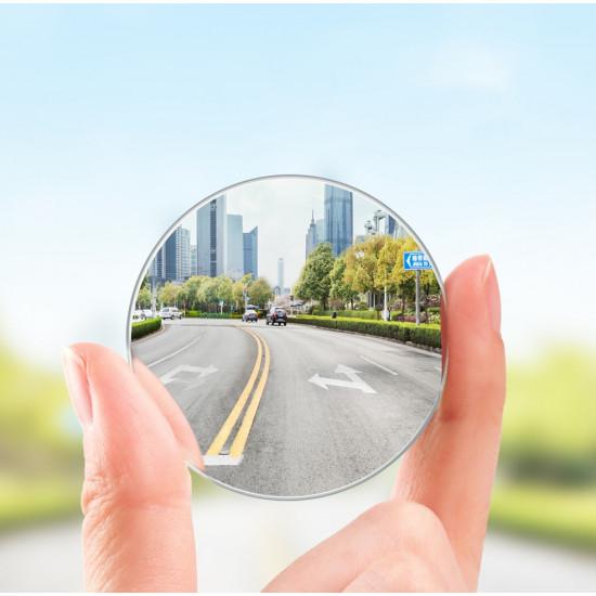 Baseus Full View Blind Spot Rearview Mirrors - 2 Εξωτερικοί Βοηθητικοί Καθρέπτες Αυτοκινήτου - Black - ACMDJ-01