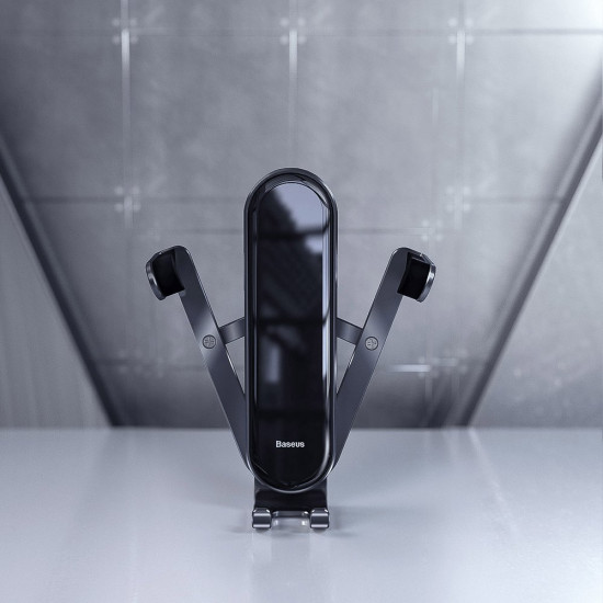 Baseus Penguin Gravity - Universal Βάση Αυτοκινήτου Αεραγωγού - Black - SUYL-QE01