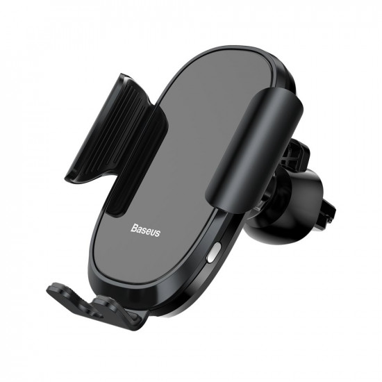 Baseus Smart Gravity Electric Brackets Universal Βάση Αυτοκινήτου Αεραγωγού - Black - SUGENT-ZN01