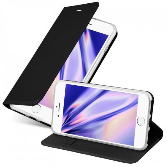 Cadorabo Apple iPhone SE 2020 / iPhone 7 / iPhone 8 Θήκη Βιβλίο Stand - Black