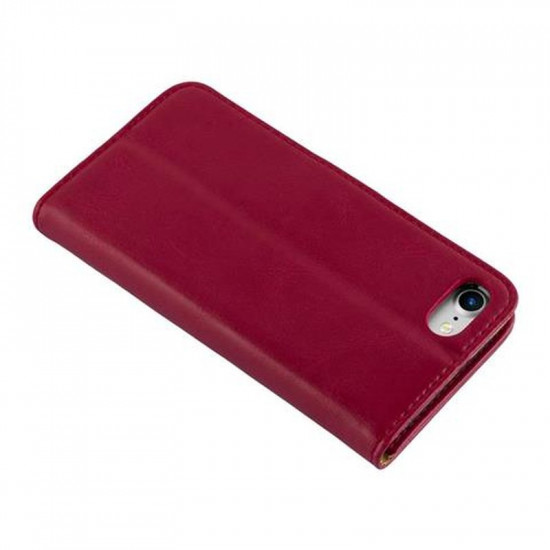 Cadorabo Apple iPhone SE 2020 / 7 / 8 Θήκη Πορτοφόλι Stand από Δερματίνη - Brown - Wine Red