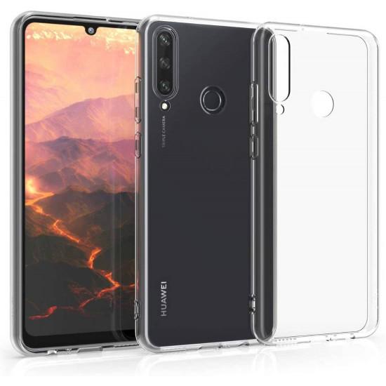 Mercury Jelly Premium Slim Case for Huawei Y6p - Clear