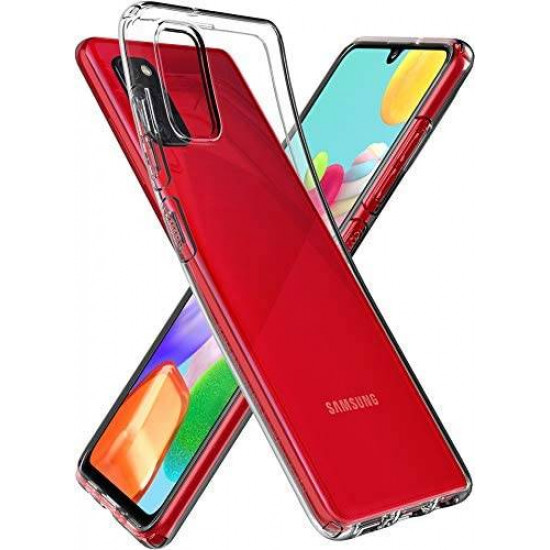 Mercury Jelly Premium Slim Case for Samsung Galaxy A41 - Clear