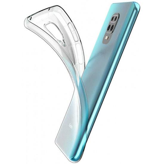Mercury Jelly Premium Slim Case for Xiaomi Redmi Note 9S / Note 9 Pro - Clear