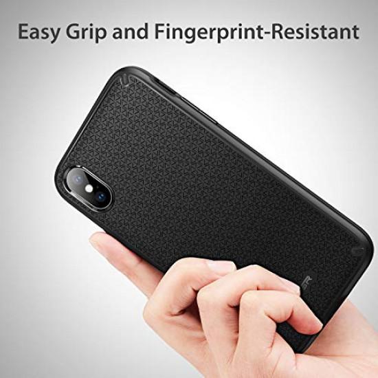 ESR Apple iPhone X / XS Kikko Series Θήκη Σιλικόνης TPU - Black