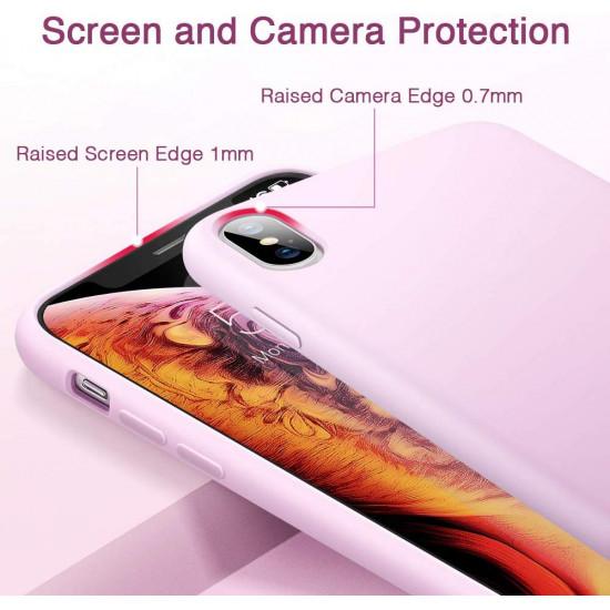 ESR Apple iPhone X / XS Yippee Θήκη Σιλικόνης Rubber TPU - Pink