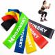 Wozinsky Resistance Bands Σετ με 5 Λάστιχα για Γυμναστική - Green / Blue / Yellow / Red / Black - WRBS5-01