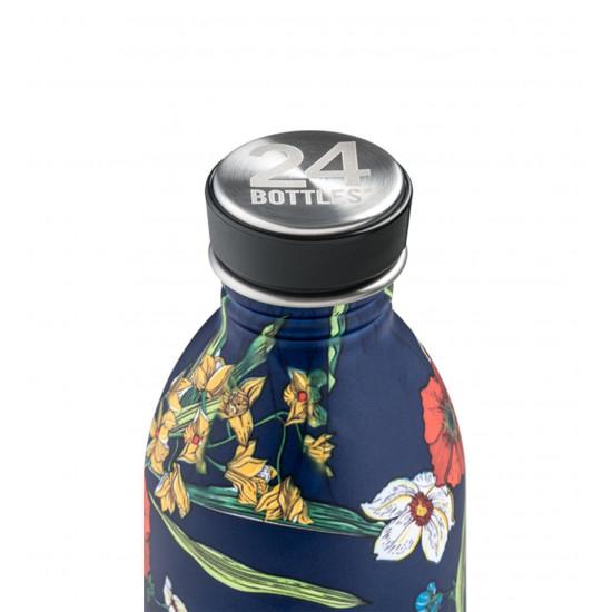 24Bottles Urban Bottle Μπουκάλι Νερού Από Ανοξείδωτο Ατσάλι - 500 ml - Denim Bouquet
