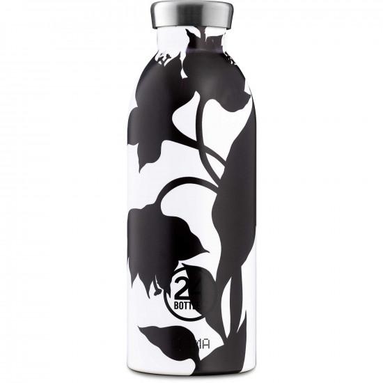 24Bottles Clima Bottle Μπουκάλι Θερμός Από Ανοξείδωτο Ατσάλι - 500 ml - Black Dahlia