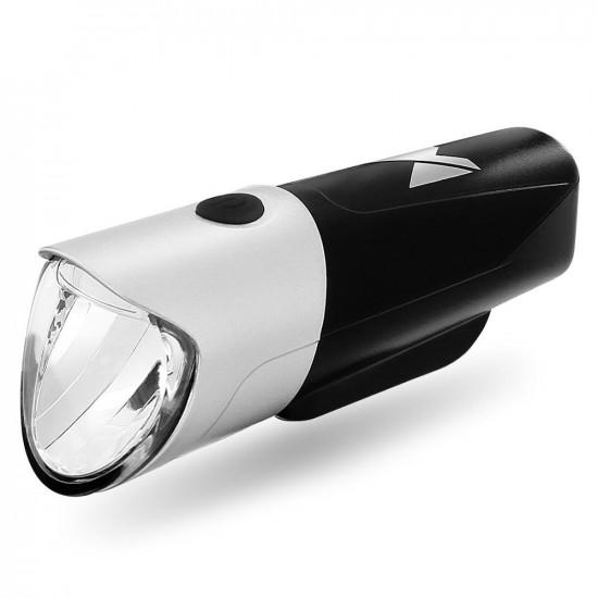 Wozinsky Front Bicycle Light - Επαναφορτιζόμενο Εμπρόσθιο Φως Ποδηλάτου - Black - WFBLB1