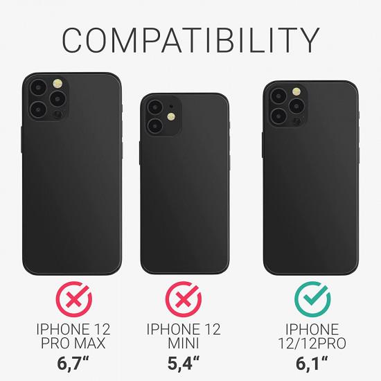KW iPhone 12 / 12 Pro Θήκη Σιλικόνης TPU - Blueberry Βlue - 54513.186