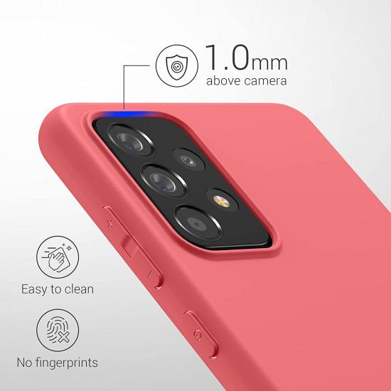 KW Samsung Galaxy A52 / A52 5G Θήκη Σιλικόνης TPU - Siesta - 54346.219