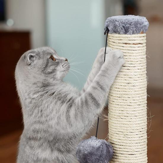 Relaxdays Ονυχοδρόμιο για Γάτες - Grey - 4052025916398